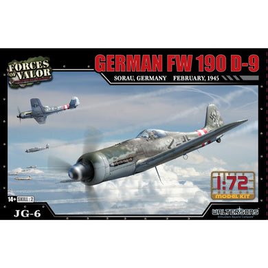 1:72nd Kit German FW 190 D-9 - Sorau, February of 1945 - Taigen Tanks