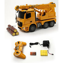 Load image into Gallery viewer, 2.4GHz RTR RC Construction - 1/20th Scale Mercedes-Benz Arocs Crane