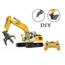 Load image into Gallery viewer, 2.4GHz RTR RC Construction - 1/16th Scale Excavator with Accessories