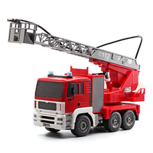 Load image into Gallery viewer, Double Eagle 2.4GHz RTR RC Construction - Mercedes-Benz Arocs Fire Truck