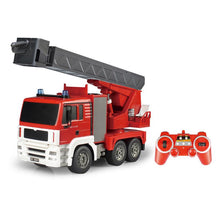 Load image into Gallery viewer, 2.4GHz RTR RC Construction - 1/20th Scale Fire Truck