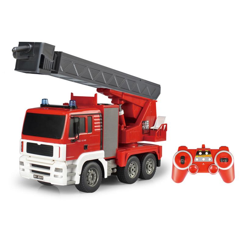 2.4GHz RTR RC Construction - 1/20th Scale Fire Truck
