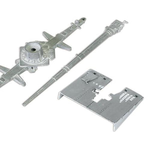 1:32nd Die-Cast German Krupp Flak 36 with Flak Rohr 18 Gun Barrel & Stand - Taigen Tanks