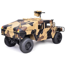 Load image into Gallery viewer, 1/10th Scale HG-P408 4x4 Military Humvee ARTR