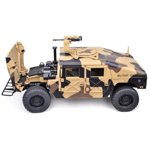 1/10th Scale HG-P408 4x4 Military Humvee Upgraded ARTR w/ LEDs and Sounds