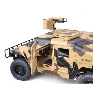 1/10th Scale HG-P408 4x4 Military Humvee ARTR