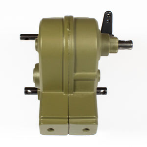 2 Speed Transmission (Green/Tan)