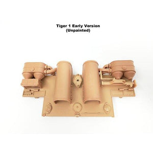 Tiger 1 Rear Back Plate