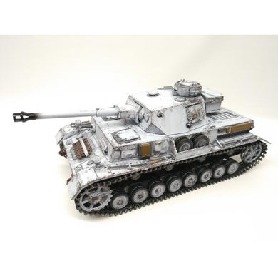 Panzer IV Ausf G Winter Metal Edition - Taigen Tanks