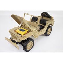 Load image into Gallery viewer, Willys 4x4 1:10th Scale RTR 2.4GHz RC Truck