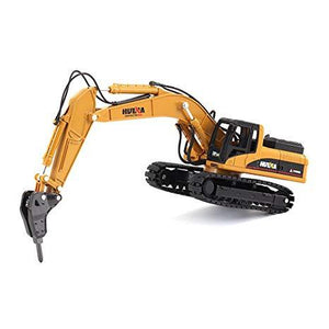 1/50th Scale Diecast Metal Drill Excavator