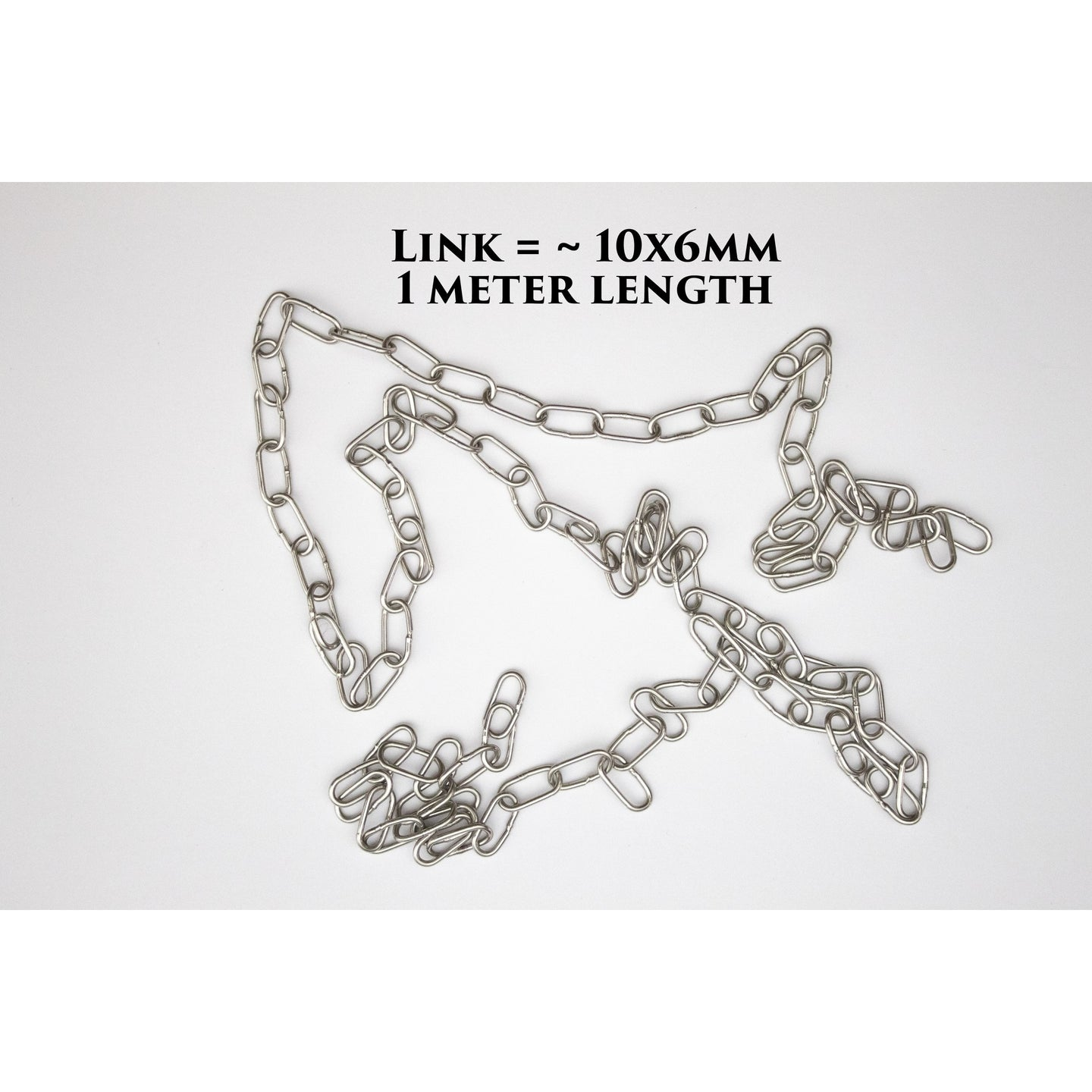 Chain Links (10x6mm) 1 Meter