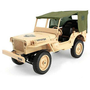 Willys Canvas Topper