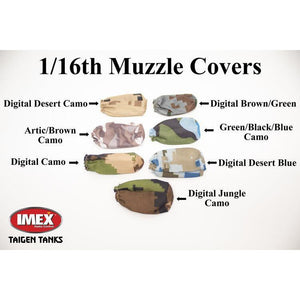 Digital Camo Muzzle Covers (Multiple Types)