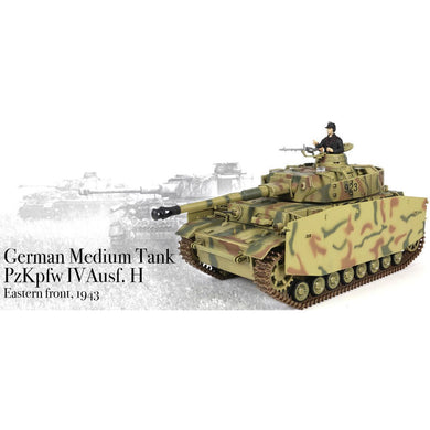 Panzer IV 1/24th Scale RTR 2.4GHz Battle Tank - Taigen Tanks