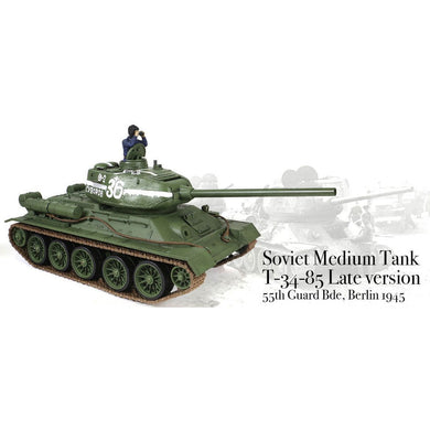 T-34/85 1/24th Scale RTR 2.4GHz Battle Tank - Taigen Tanks