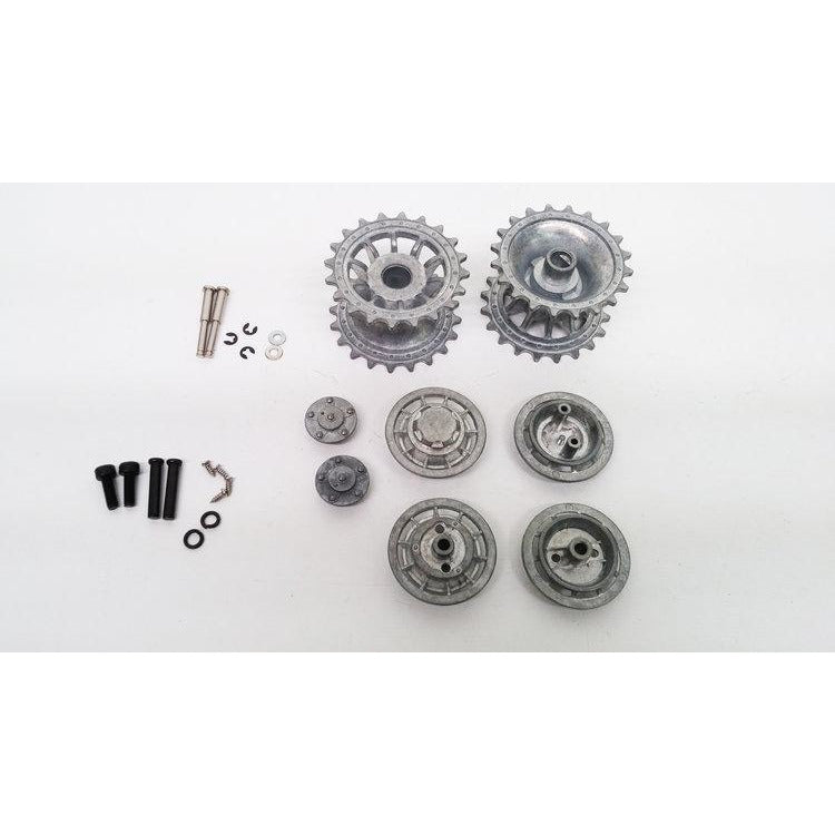 Tiger 1 Late Metal Drive/Idler Wheel Set