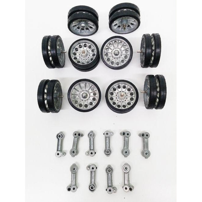 T-34/85 Metal Road Wheels & Metal Suspension Arm Set