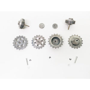 Panther G & Jagdpanther Metal Drive & Idler Wheel Set (Ausf G) For Plastic Chassis - Taigen Tanks