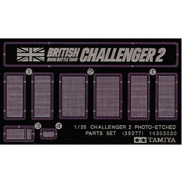 1/35 Challenger 2 Photo Etched Parts - Taigen Tanks