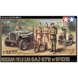 1/48 Russian Field Car GAZ-67B with Figure - Taigen Tanks