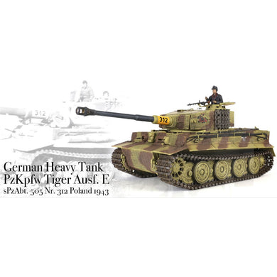 Tiger 1 Late 1/24th Scale RTR 2.4GHz Battle Tank - Taigen Tanks