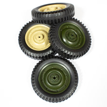 Load image into Gallery viewer, Willys Tires (1 Pair) (Green/Tan)