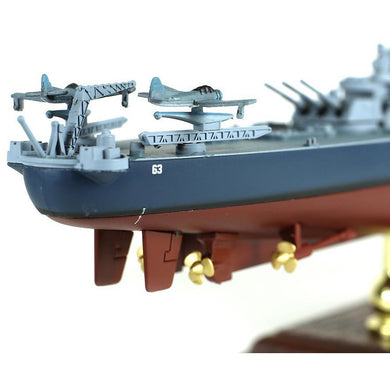 1:700th Die-cast USS Iowa Class Battleship, USS Missouri (BB-63) - Pacific Theater, Battles of Okinawa - Taigen Tanks