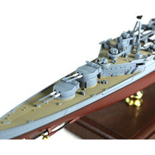 Load image into Gallery viewer, 1:700th Die-cast British Admiral-Class Battlecruiser, HMS Hood - Battle of the Denmark Strait, May of 1941 - Taigen Tanks