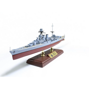 1:700th Die-cast British Admiral-Class Battlecruiser, HMS Hood - Battle of the Denmark Strait, May of 1941 - Taigen Tanks