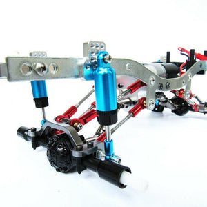 Aluminum Shocks with Aluminum Shock Mounts (x4 Total)
