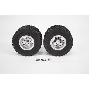 Dually Rear Tires & Rims (1 Pair)
