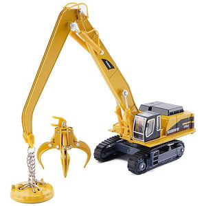 1/87th Scale Diecast Metal Material Handler