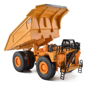 1/75th Scale Diecast Metal Mining Truck