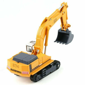 1/87th Scale Diecast Metal Hydraulic Excavator