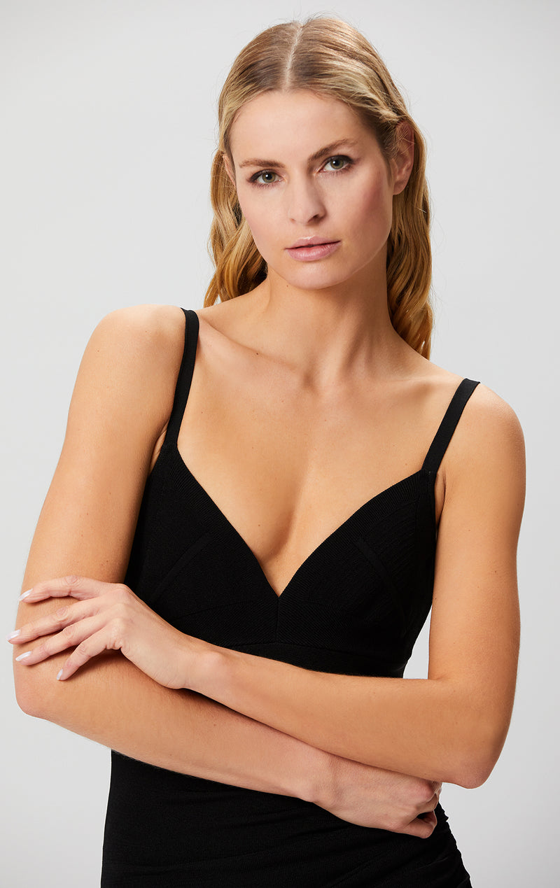 Camisole Draped Dress