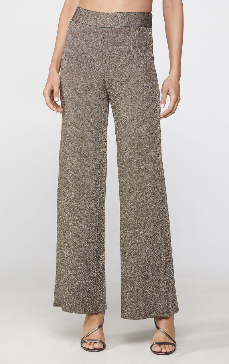 Double Face Metallic Pants