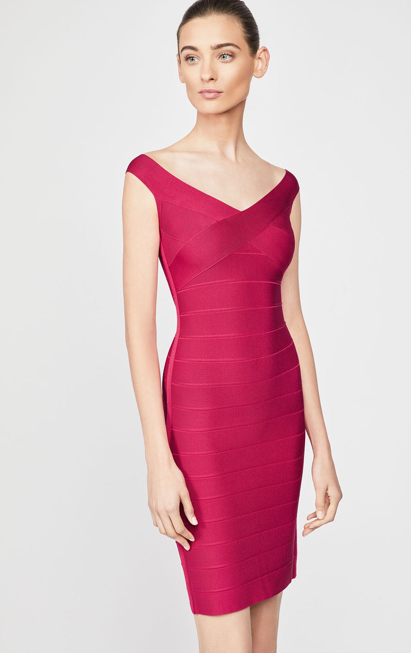 Icon Off The Shoulder Sheath Dress