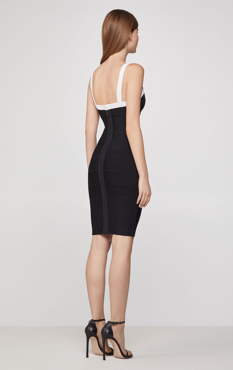 Strappy Icon Deep-V Dress