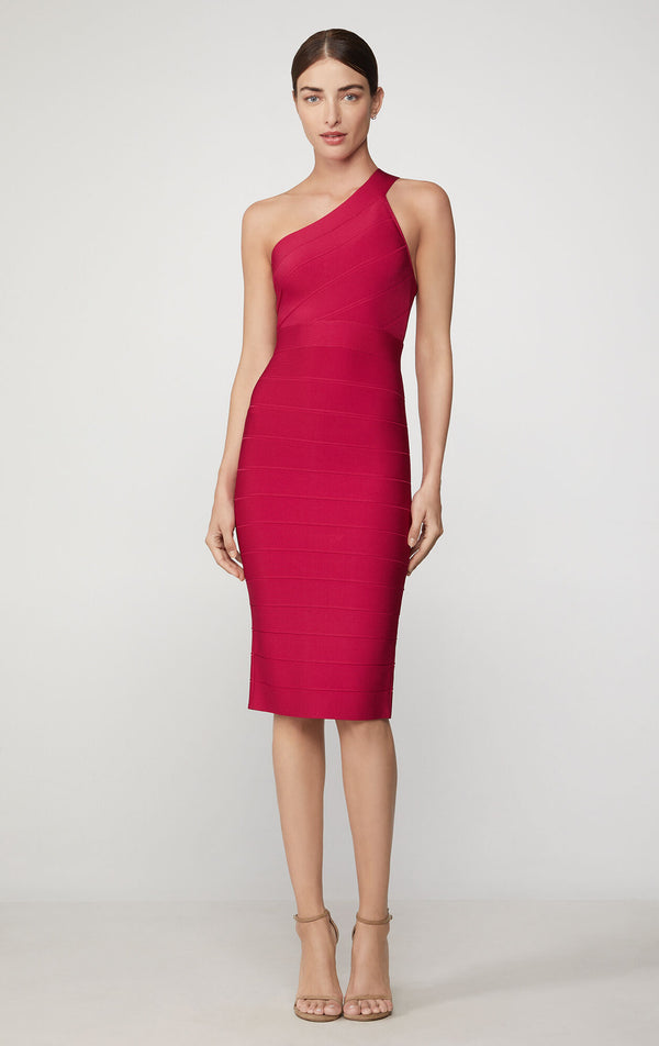 Icon One Shoulder Sheath Dress