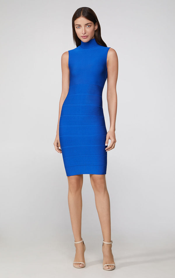 Mock Neck Icon Dress