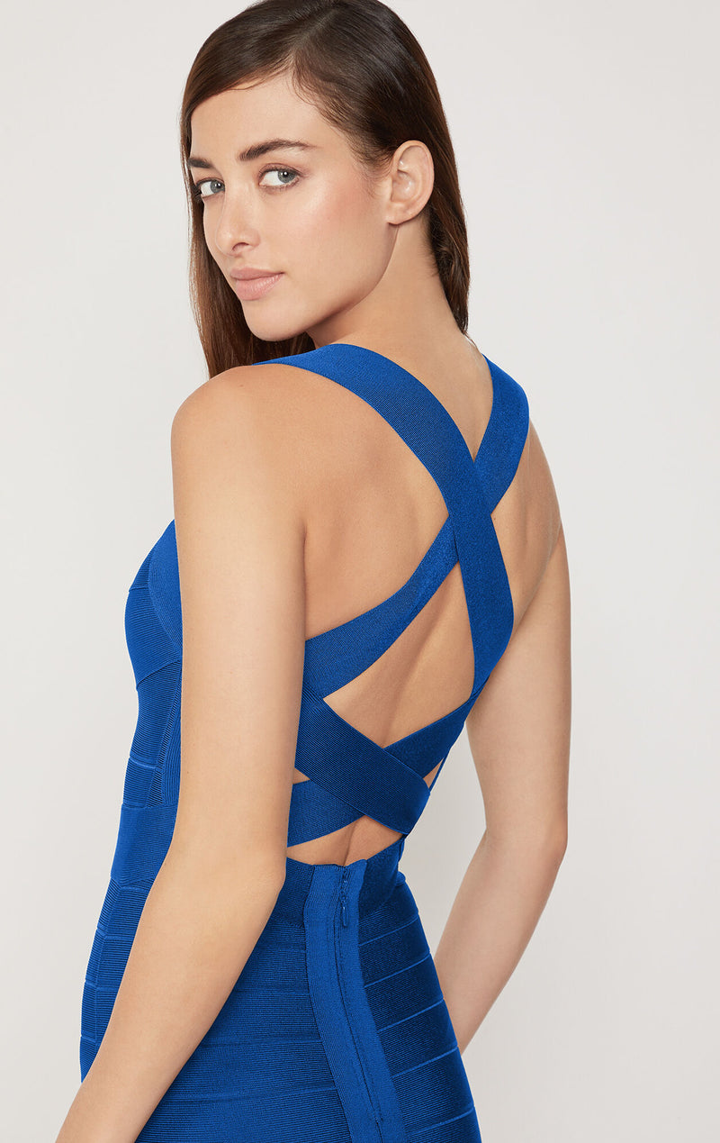 Open X Back Icon Dress