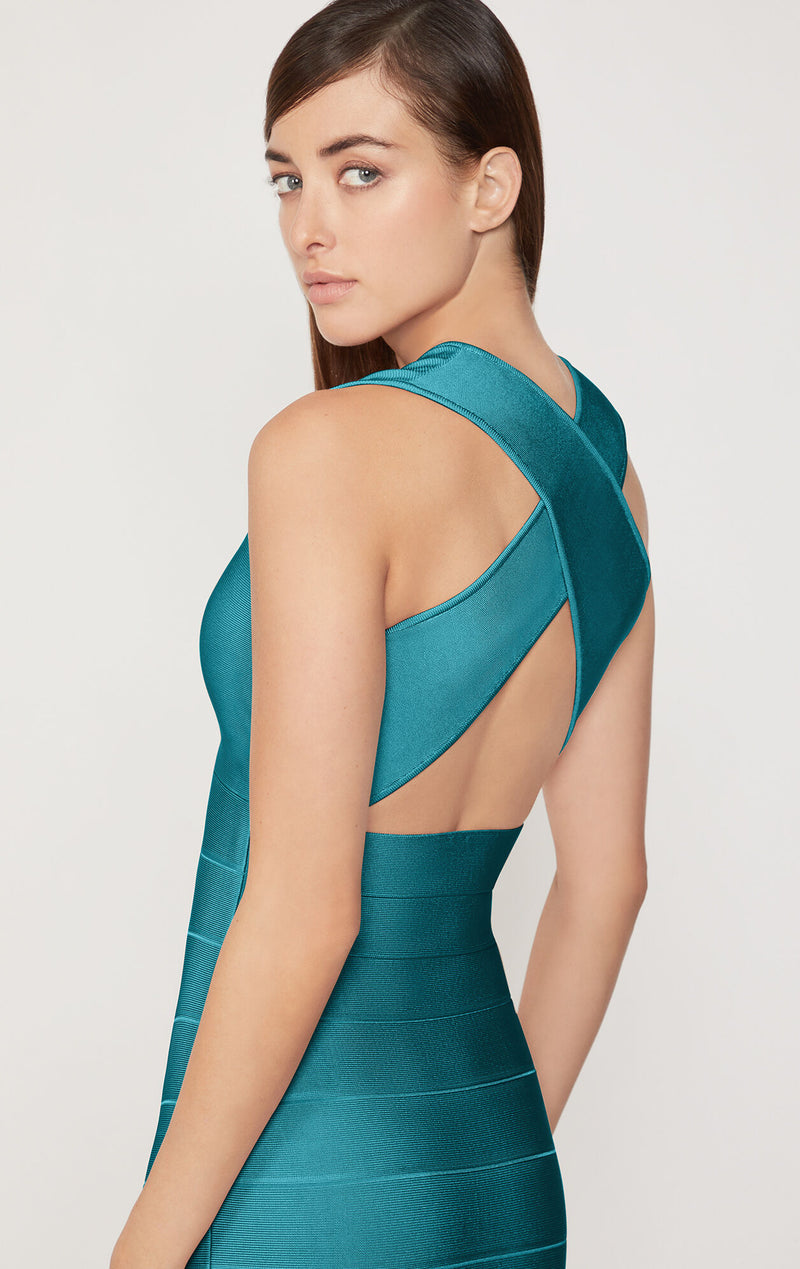 Criss Cross Back Icon Dress