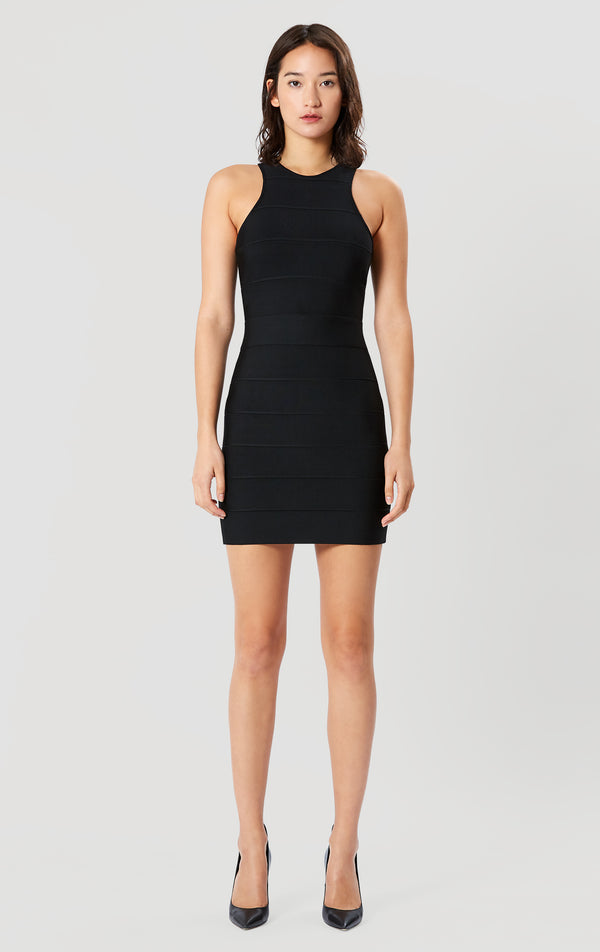 Racer Mini Bandage Dress