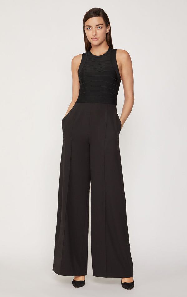 Criss Cross Open Back Jumpsuit