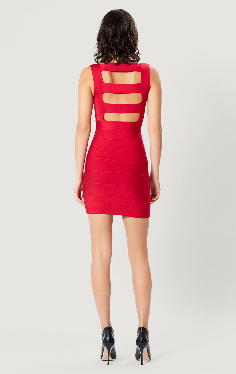 Icon Cutout Mini Dress