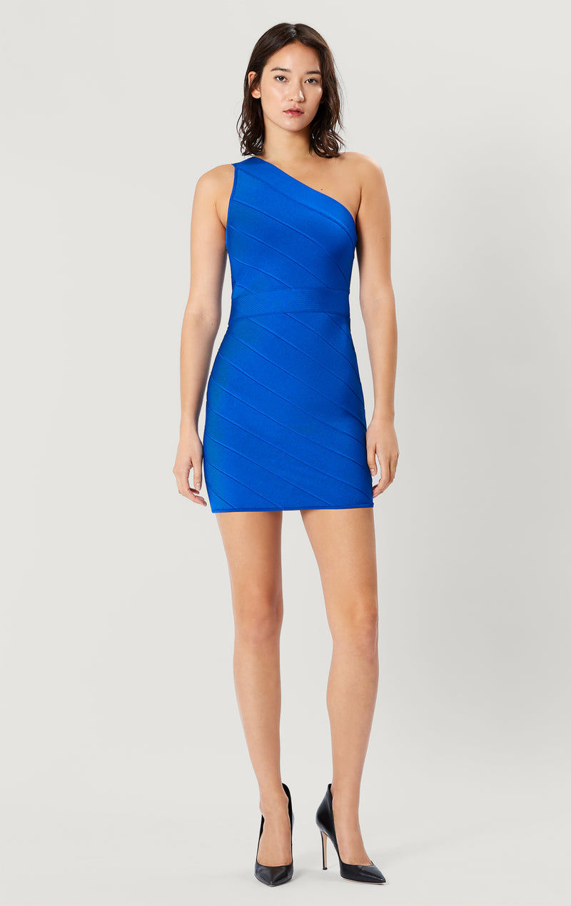 Icon One Shoulder Mini Dress