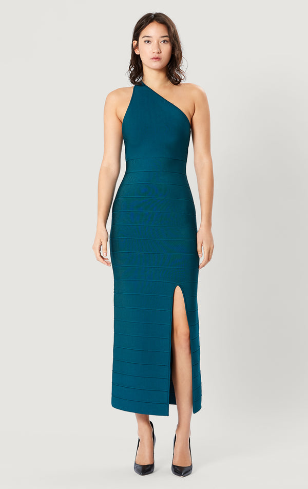 Icon One Shoulder Midi Gown