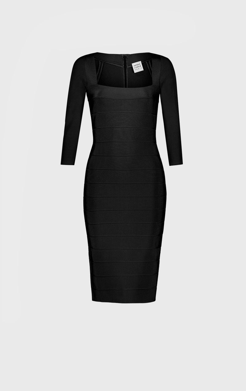SQUARE NECK ICON DRESS