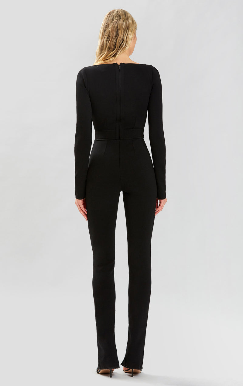 HL x JRR SWEETHEART LONG SLEEVE JUMPSUIT